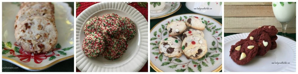 Favorite Christmas cookies collection