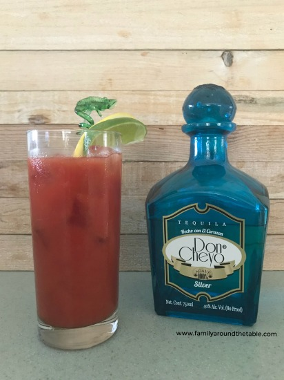 A Bloody Maria is Mary's spicy south of the border cousin, made with tequila rather than vodka.