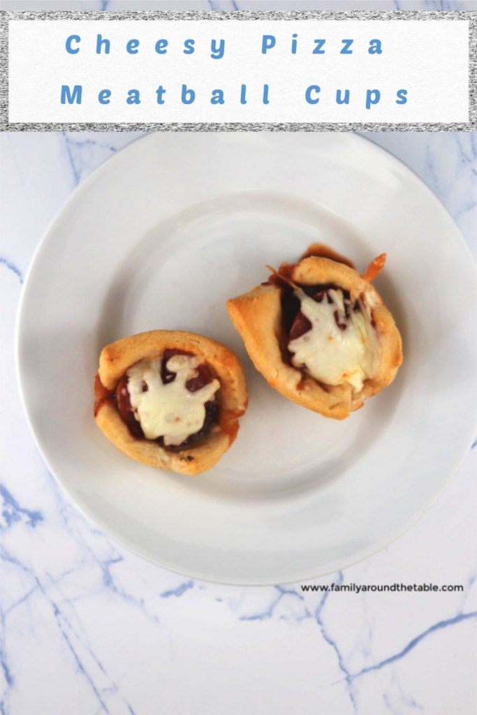 Cheesy Pizza Meatball Cups are perfect as an appetizer or light lunch.