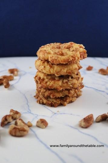 Fill your cookie jar with orange pecan cookies.