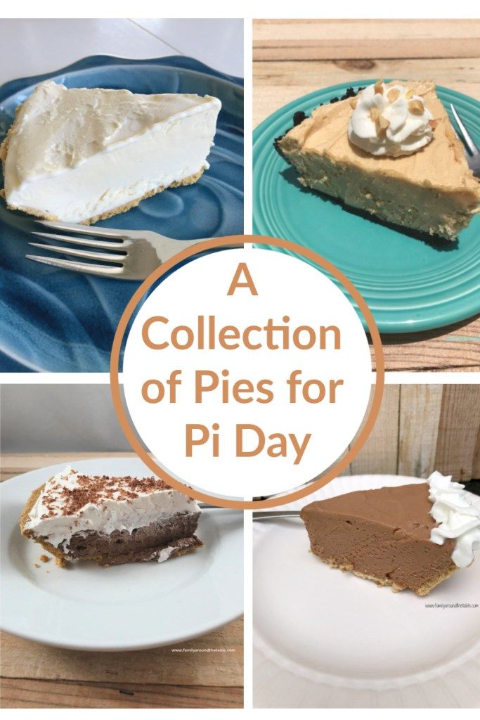 A nice selection of pies for Pi day.