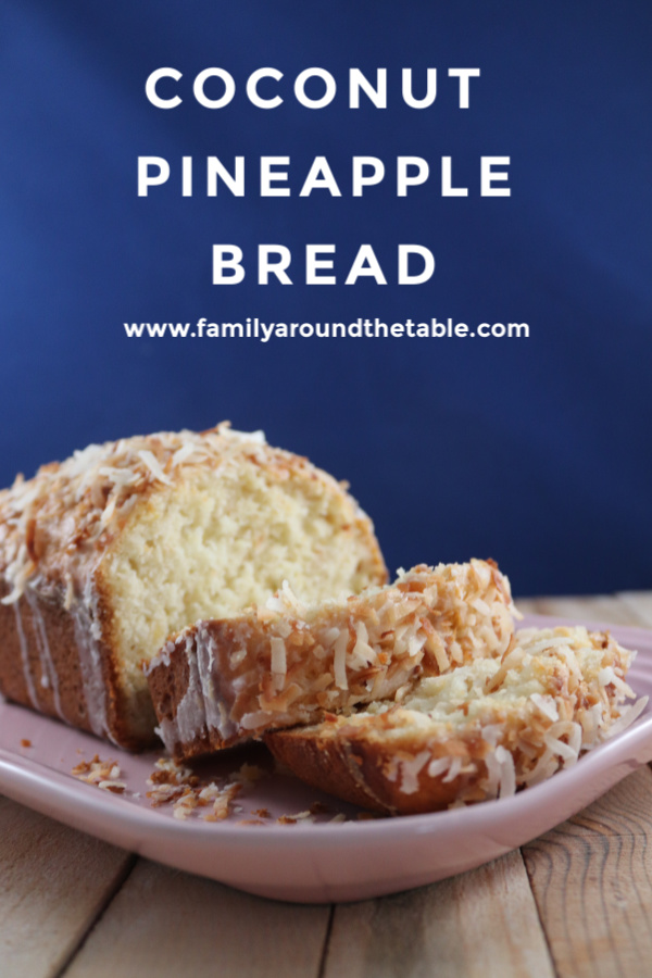 Taste the tropics with this flavorful coconut pineapple bread.