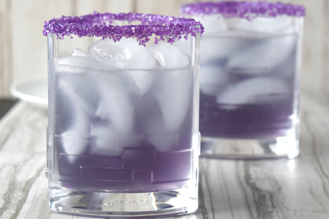 Lightning Lavender Margarita
