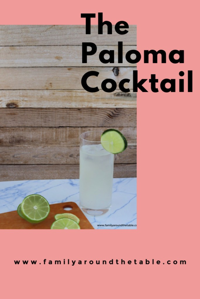 Enjoy a Paloma on a hot summer day. Fresh and delicious!