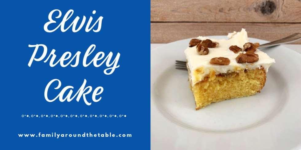 Elvis Presley Cake Twitter image.