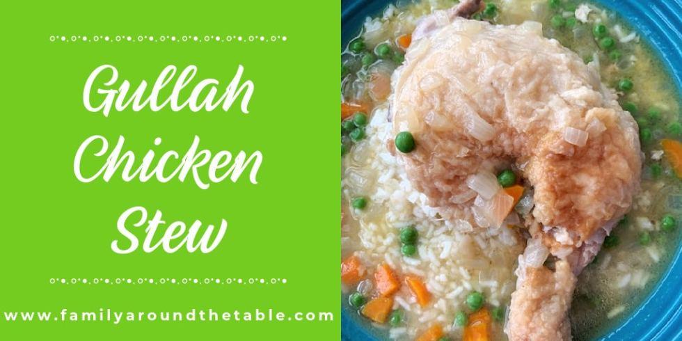 Gullah Chicken Stew Twitter Image.