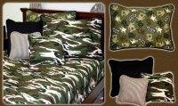 Skateboard And Camouflage Boys Bedding Room Decor
