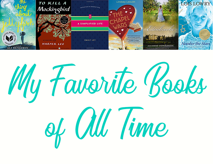 There are so many amazing books out there, but these are some of my all-time faves.