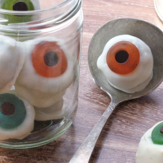 edible eye balls