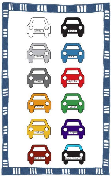 car-colour-bingo