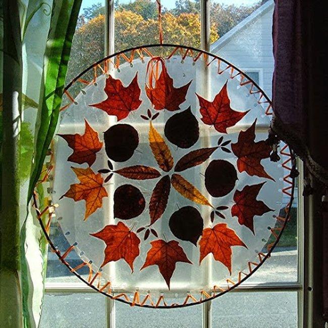 Autumn Suncatcher