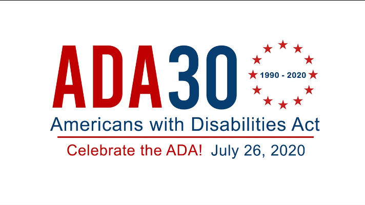 ADA 30th logo