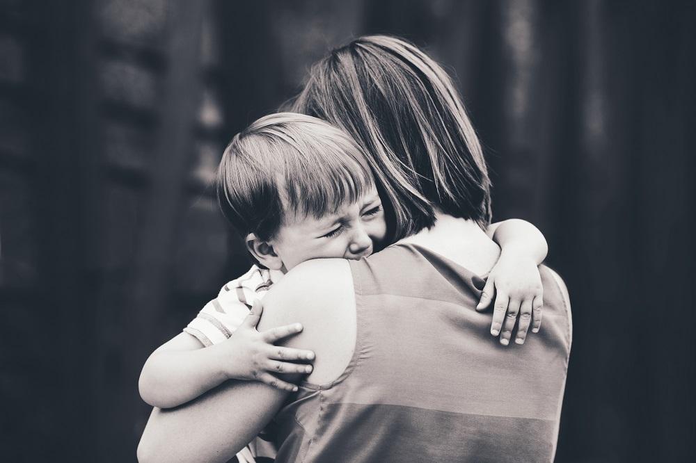 Caregiver comforting trauma