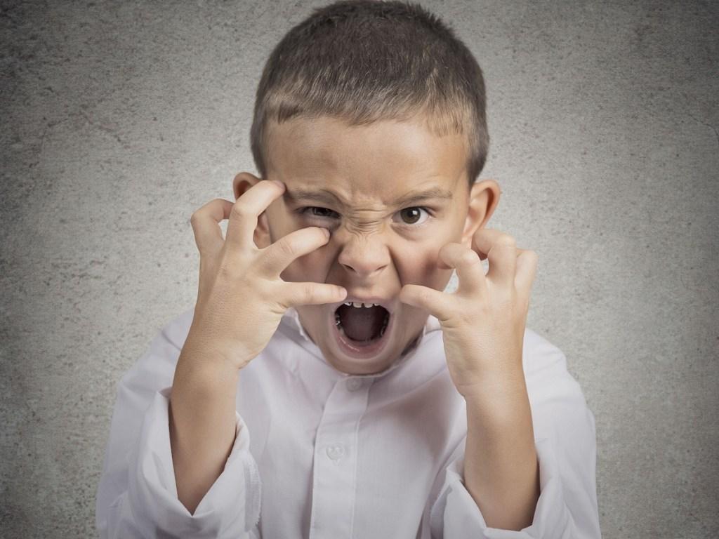child trauma tantrum