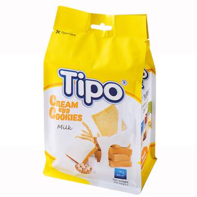 TIPO雞蛋吐司餅-牛奶風味(135g/包)-鮮食家,生鮮美食攏抵家
