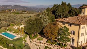 Villa Bagnolo-Tuscany-View midday