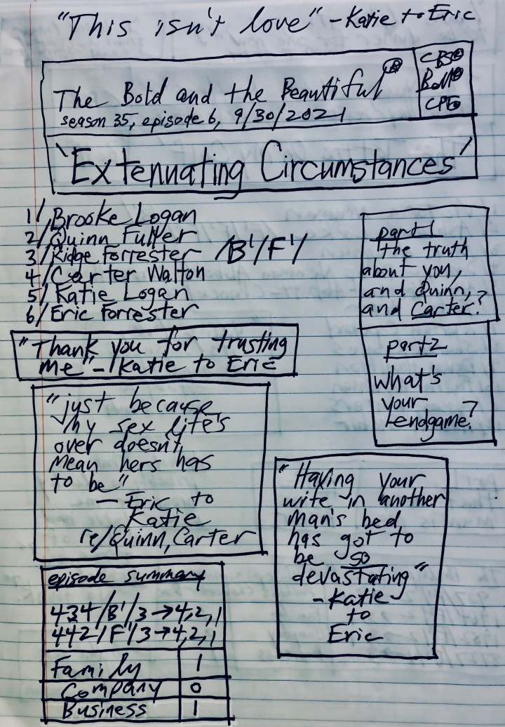 #bb-family-company-business-summary-'Extenuating Circumstances' - 9-30-2021