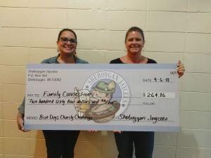Sheboygan Jaycees Charity Challenge Award