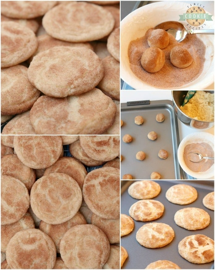 Classic Snickerdoodle recipe for the best Snickerdoodle Cookies ever! Soft & chewy with great cinnamon sugar flavor and that traditional snickerdoodle texture.