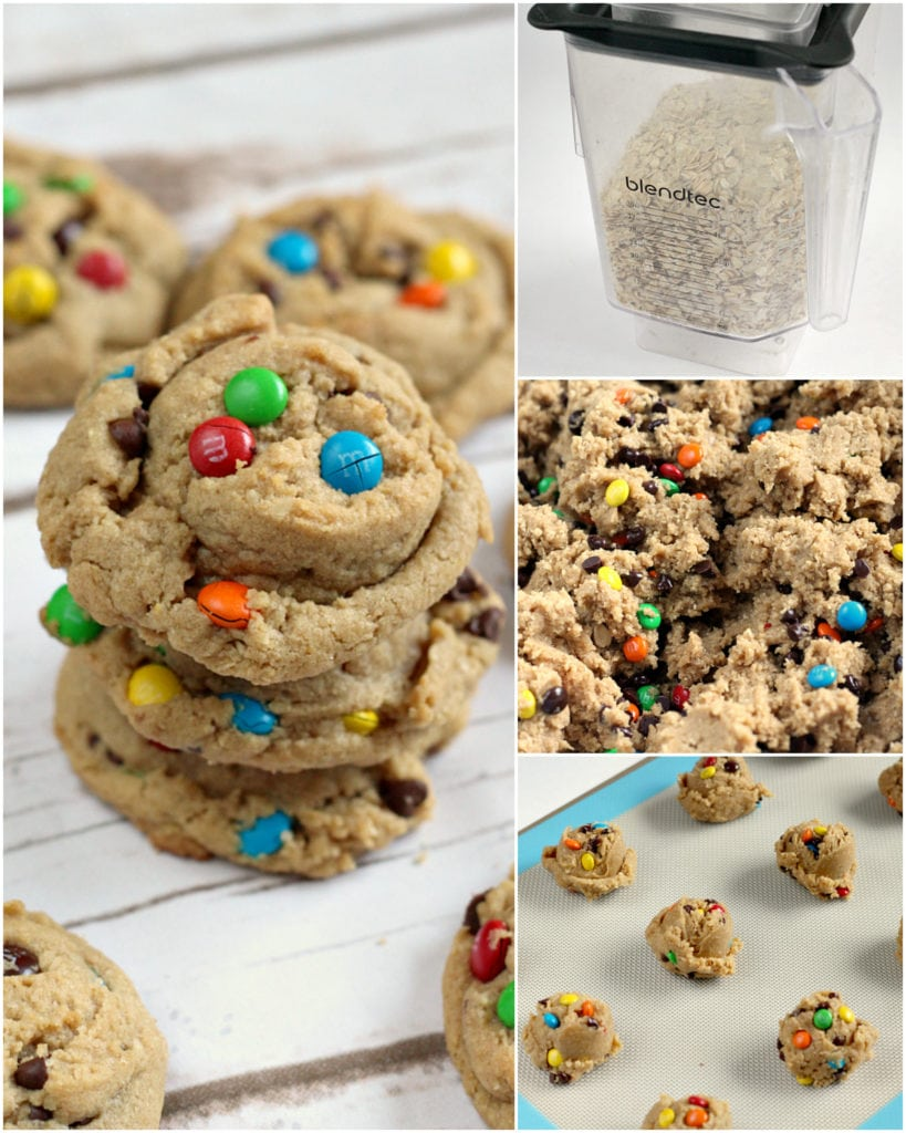 Step by step photos and instructions on how to make the best Monster Cookies!