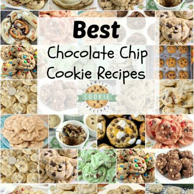 BEST HOMEMADE CHOCOLATE CHIP COOKIE RECIPES
