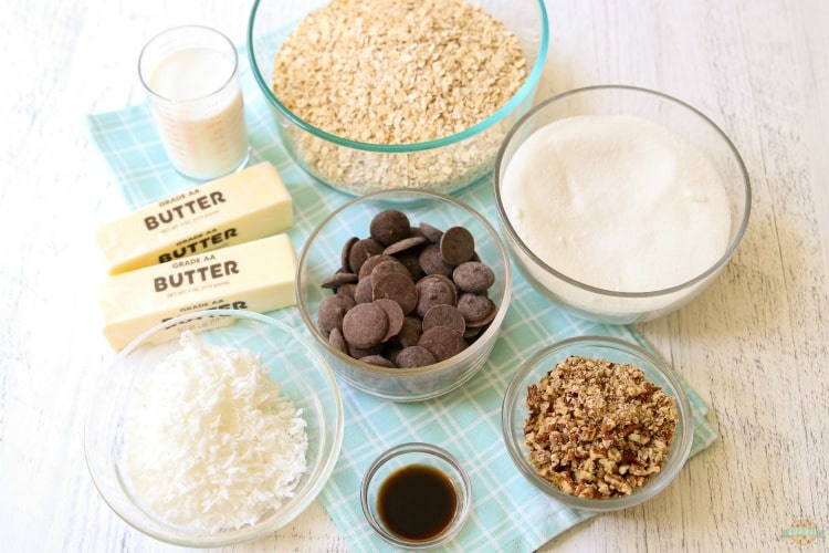 What's in No Bake Cookies