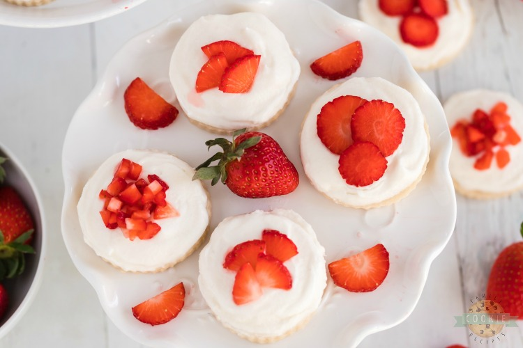 Strawberry Shortcakes Cookie recipe
