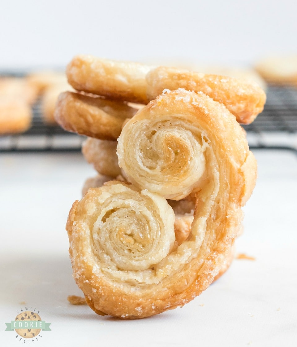 Easy Palmiers recipe