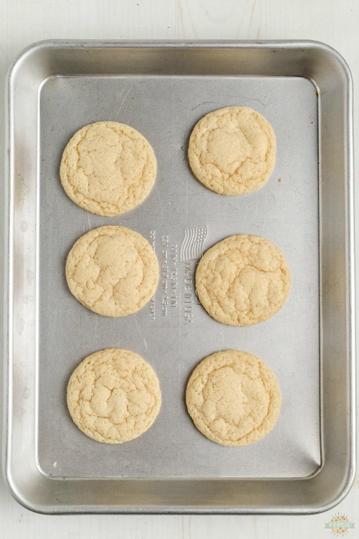 Soft Sour Cream Sugar Cookies recipe