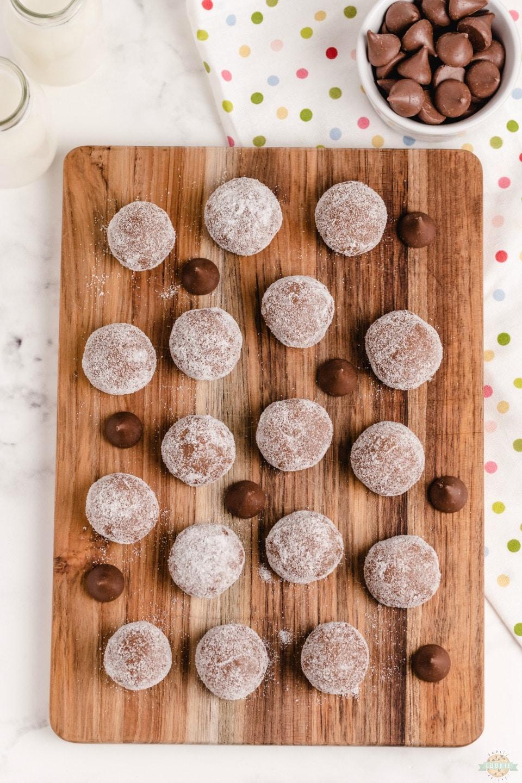Hidden Chocolate Kiss Cookies