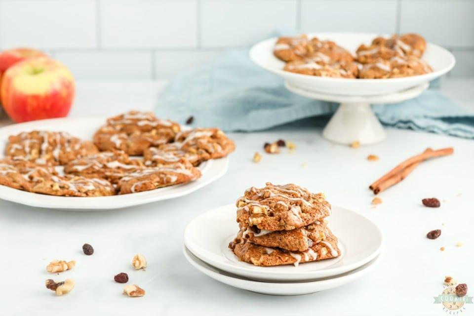 Easy Cinnamon Spiced Apple Cookies recipe