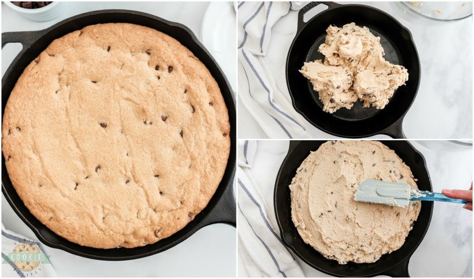 How to make a Cast Iron Skillet cookie recipe