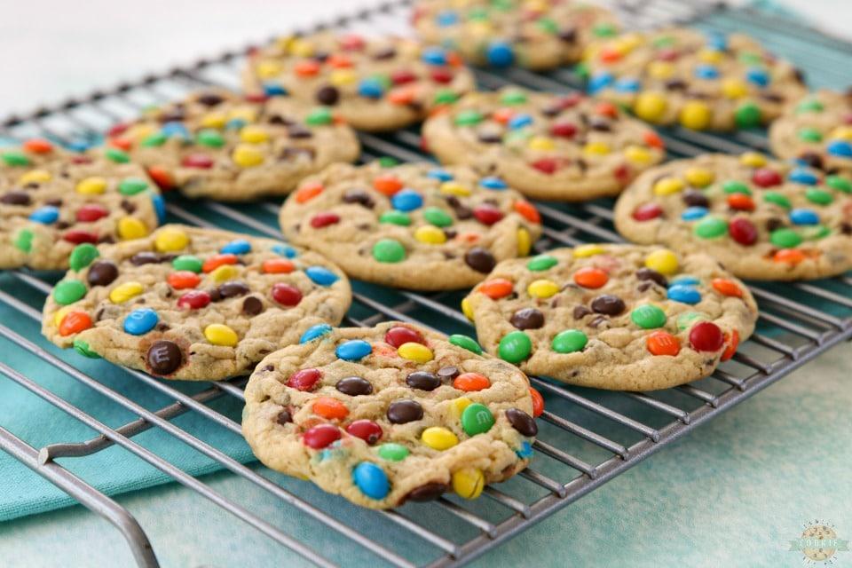 Best M&M Cookies