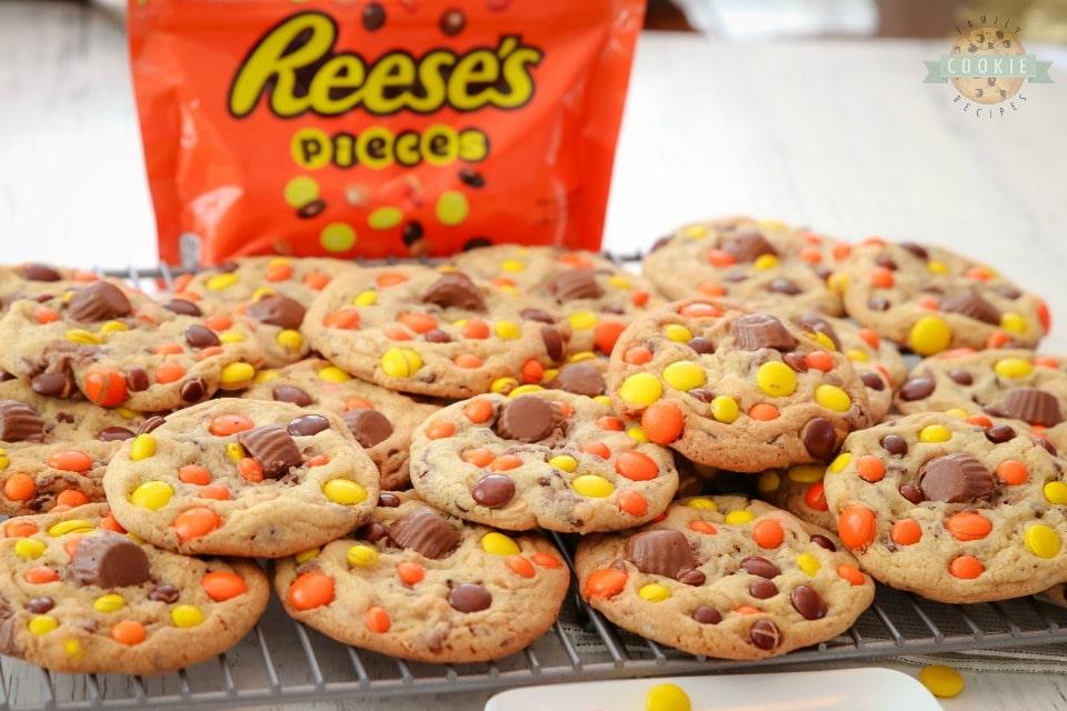 Loaded Reeses Cookies recipe