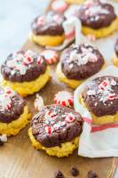 Peppermint Fudge Sugar Cookie recipe