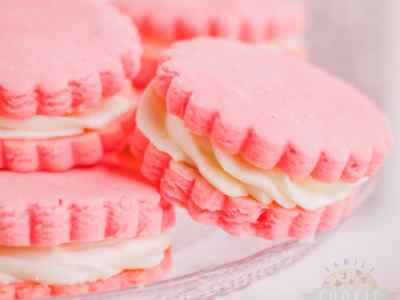 Pink Sandwich Cookie recipe