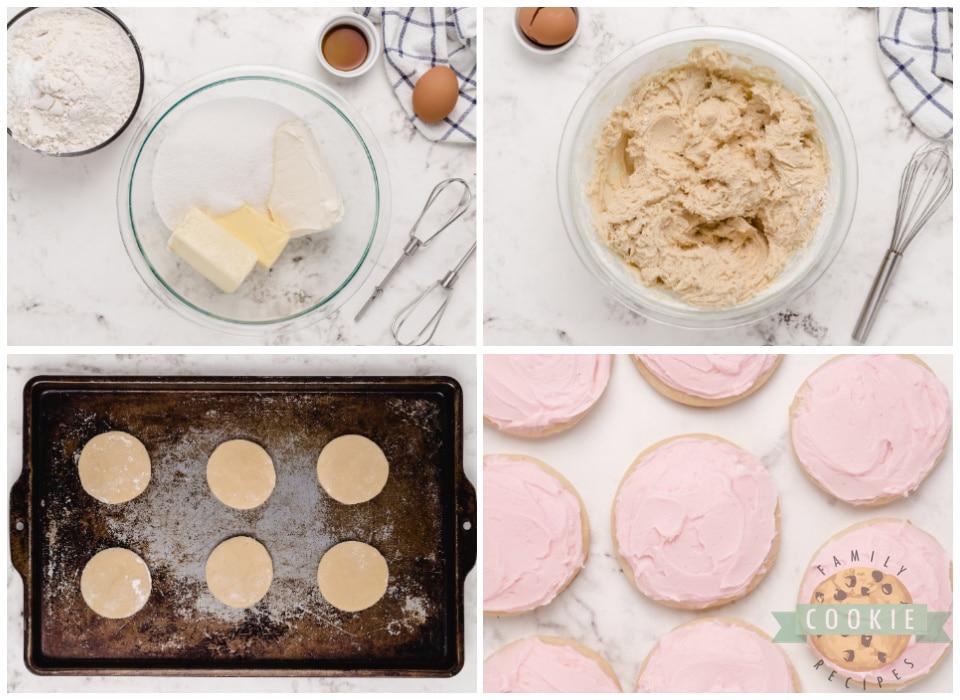 How to make cream cheese sugar cookies
