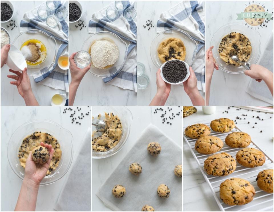 how to make Big Soft Chocolate Chip Cookie recipe