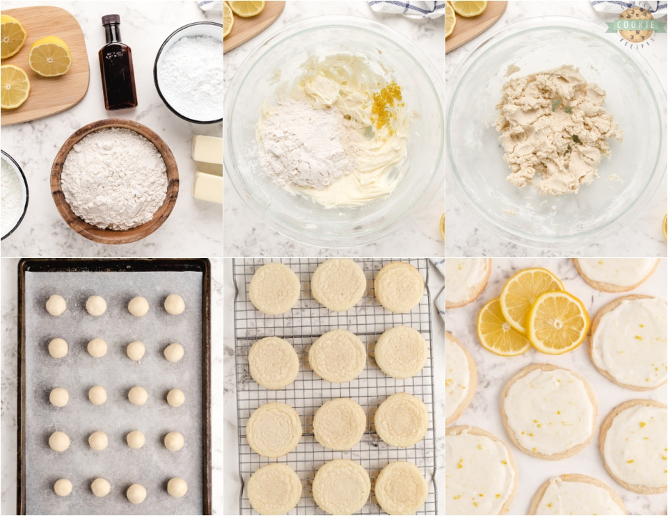 How to Make Soft & Tender Lemon Meltaway Cookie recipe