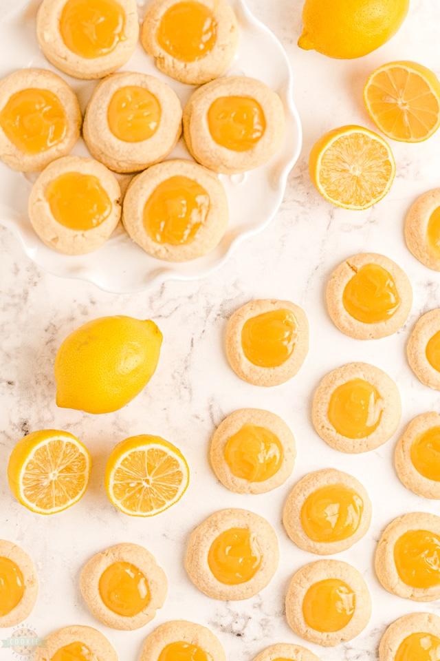 Lemon Thumbprint Cookies recipe