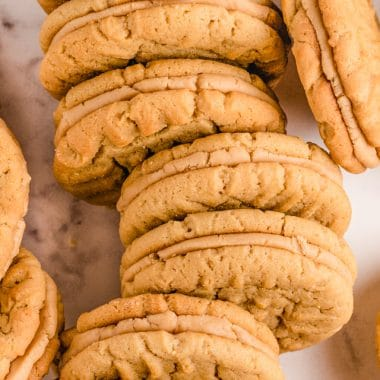 How to make the best Peanut Butter Sandwich cookies
