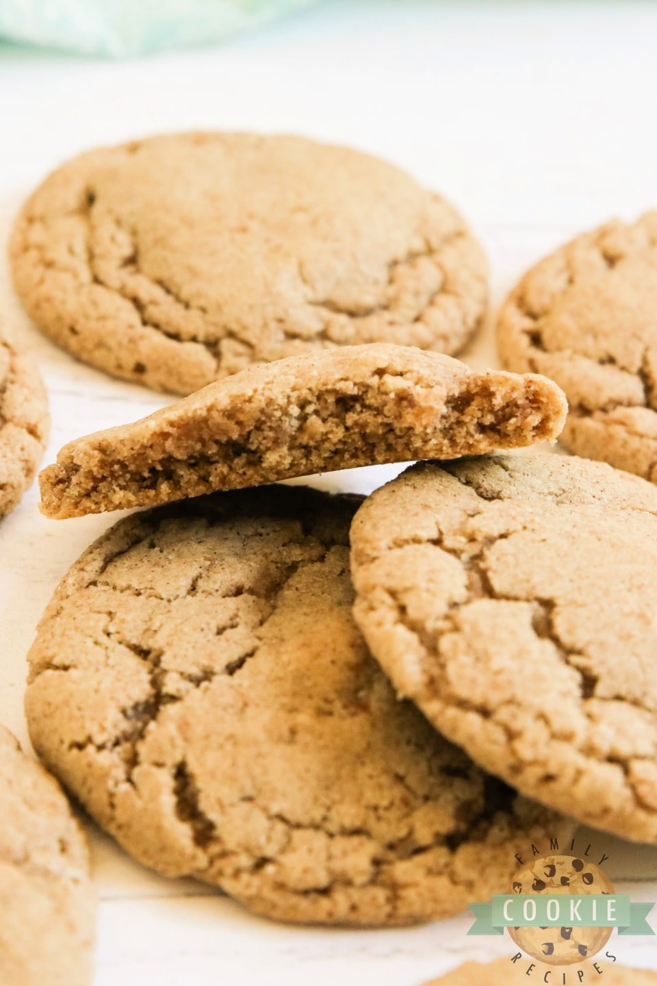 Oatmeal cookies with lots of cinnamon