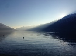 Lago Maggiore from Ascona playground