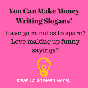 Make Money Writing Slogans