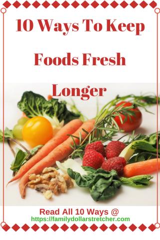 Keep Foods Fresh