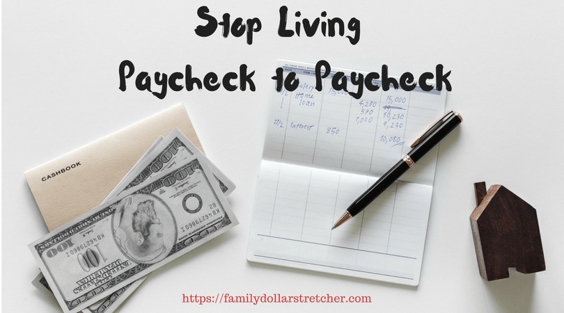 paycheck to paycheck