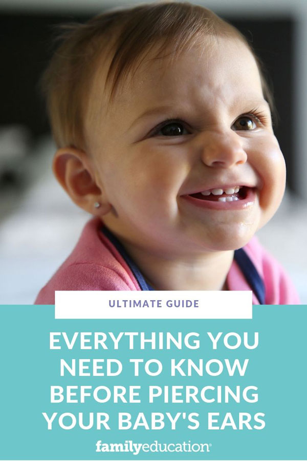 Infant Ear Piercing Near Me : infant, piercing, Everything, Before, Piercing, Baby's, FamilyEducation