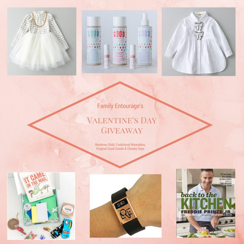 Valentine's Day Gift Ideas & Giveaway - Family Entourage
