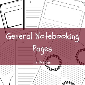 General Notebooking pages