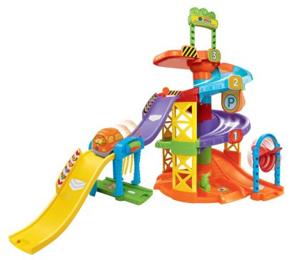 Gifts For Toddlers - VTech Go! Go! Smart Wheels Spinning Spiral Tower Playset